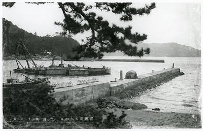 鳥羽・答志島和具漁港竣工全景
