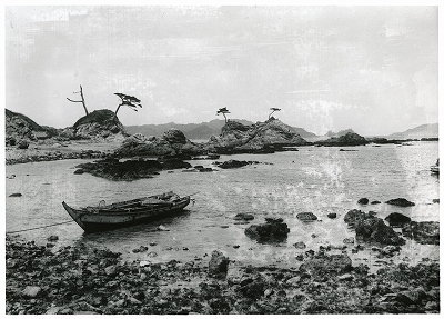 鳥羽・菅島村の風景
