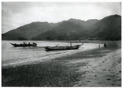 鳥羽・菅島漁港えびえさ引船