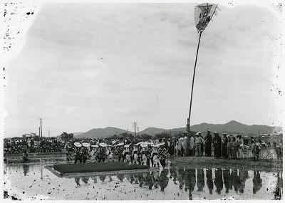 磯部村御田植と竹取の景
