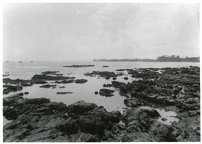 片田麦崎海岸の暗礁