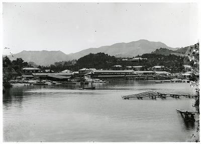 五ヶ所 御木本真珠養殖場の全景