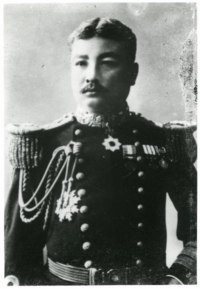 鳥羽商船学校第3代校長・山内万壽
