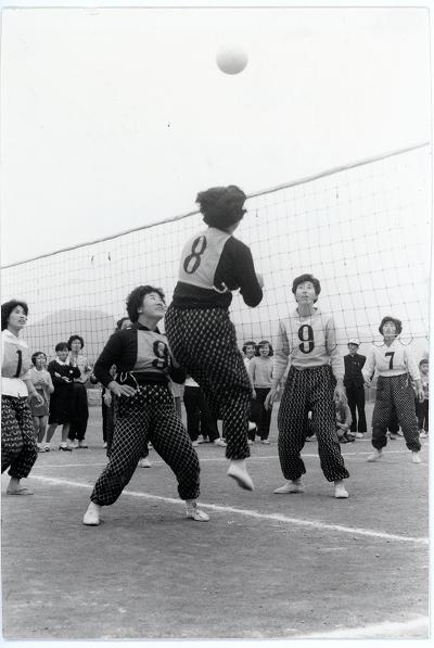 鳥羽市第1回婦人バレーボール大会2
