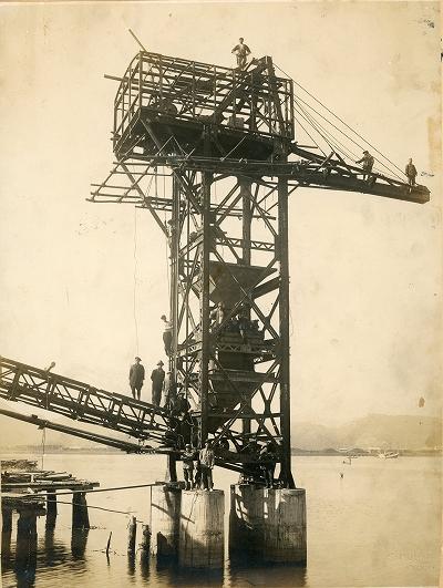鳥羽造船工場最後の工事・高知市土佐浦戸湾
