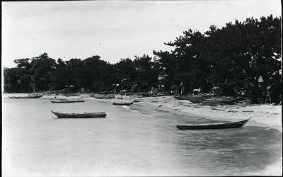 鳥羽市安楽島町前の浜の景観 1