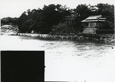 鳥羽市安楽島町字中崎と子捨場の景観