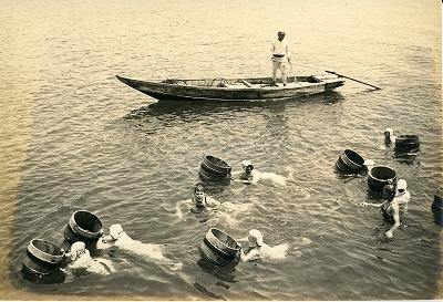 戦後のミキモト真珠島の風景2