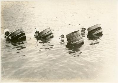 戦後のミキモト真珠島の風景3