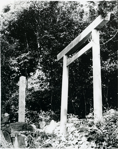 鳥羽市安楽島町「伊射波神社」一の鳥居 2