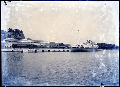 修築後の鳥羽港3