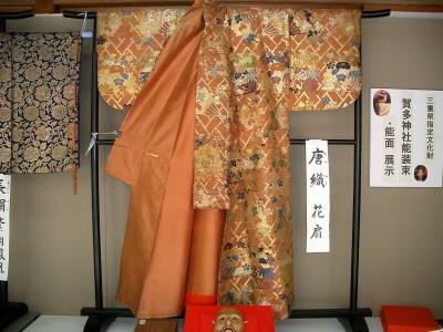賀多神社の能面と能衣装11