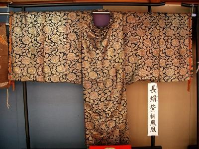 賀多神社の能面と能衣装12