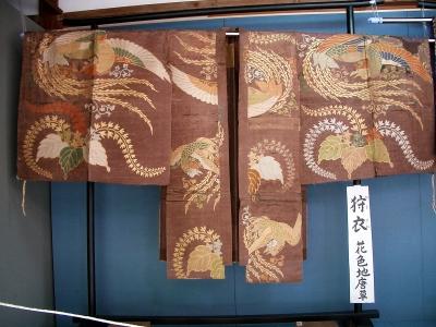 賀多神社の能面と能衣装13