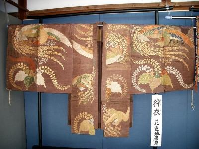 賀多神社の能面と能衣装14