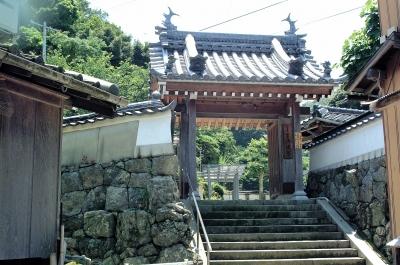 小浜町観竜山済渡院2(山門)