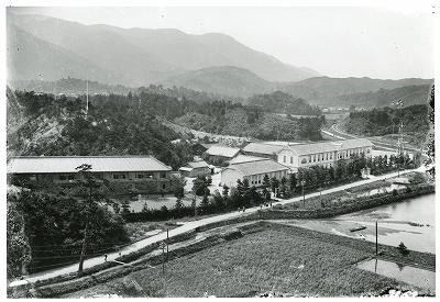 三重県立鳥羽商船学校全景