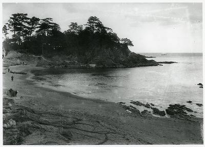 鳥羽・国崎前の浜・鎧崎