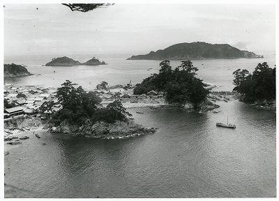 鳥羽・答志村の風景